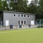 Das neue Athletikhaus vom Hockeyverein SV Bergstedt