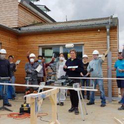 Gemeinsam Bauen am Gemeinschaftshaus Ohlendiekshöhe in Poppenbüttel