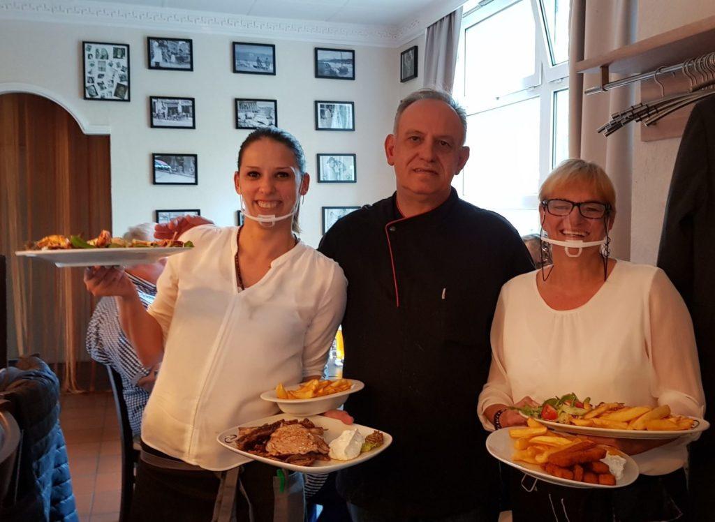 Gastgeber Vangelis Georgiadus vom Restaurant Aegeon am Buchenring in Volksdorf