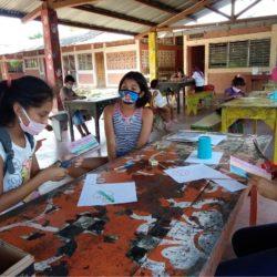 Der Verein Kinderträume unterstützt Schulunterricht in Leon, Nicaragua
