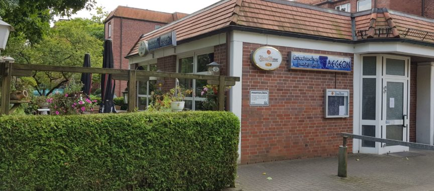 Das Restaurant Aegeon am Buchenring in Volksdorf