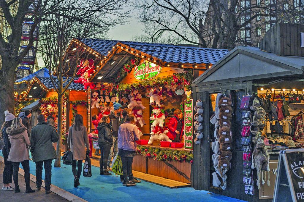 Ein Weihnachtsmarkt soll den Einkaufsstandort Poppenbüttel noch attraktiver machen