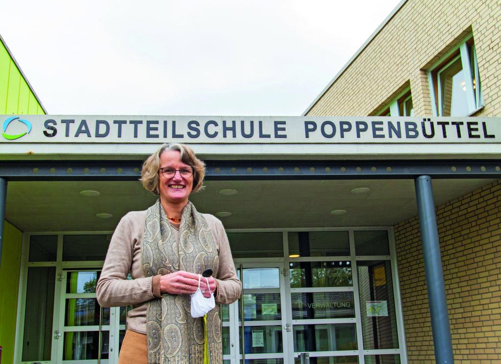 Dorothee Wohlers von der Stadtteilschule Poppenbütte
