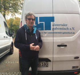 Nils Rahe vom Alstertaler Gabentisch e.V.