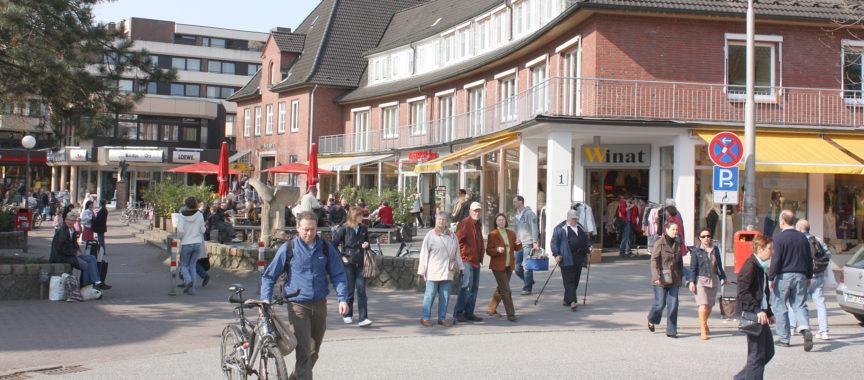 Autofreier Ortskern in Volksdorf