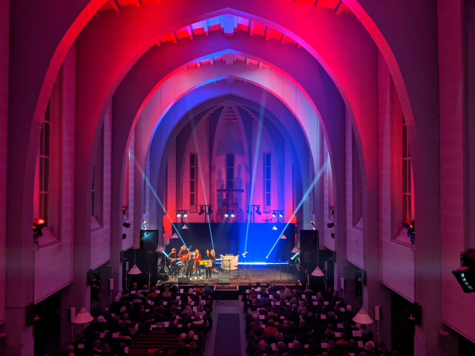 Benefizkonzert in der Rockenhof Kirche für Flüchtlingshilfe