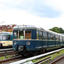 Historische S-Bahn Züge Hamburg