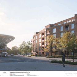 Planung für den Umbau des Wentzelplatz in Poppenbüttel