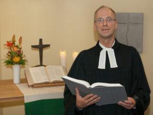 Pastor Olaf Ebert aus Hamburg