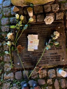 Weiße Rose Mahnmal Das Grundgesetzt gilt für alle