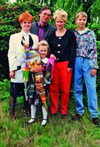 Familie Köhler aus Graal-Müritz 1989