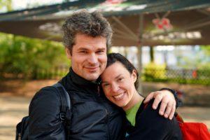 Nikolas und Milena Migut vom Verein StrassenBLUES aus Bergstedt