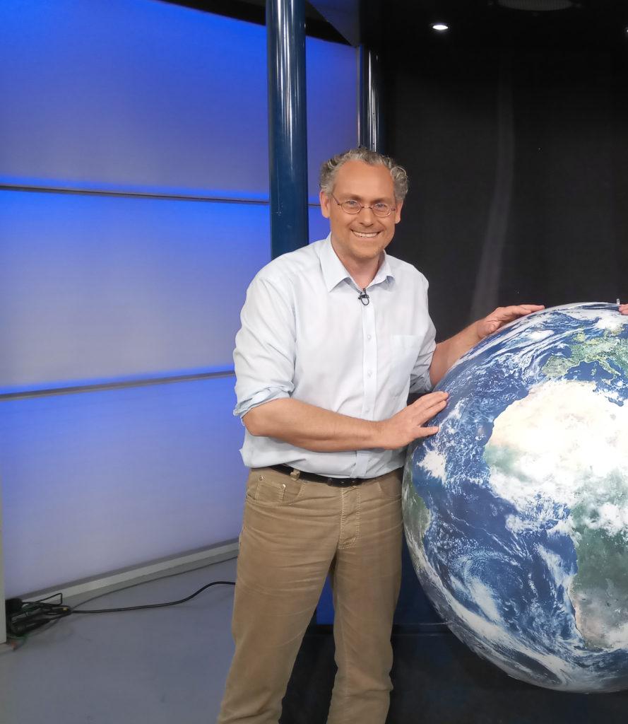 Extremwetterexperte und Moderator Frank Böttcher