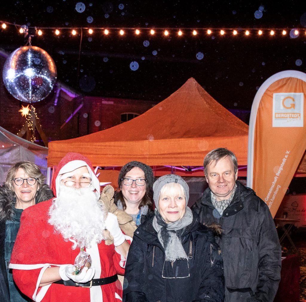 Weihnachtsmann in Bergstedt