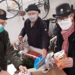 Der Lions-Club Walddörfer packt Weihnachtspakete