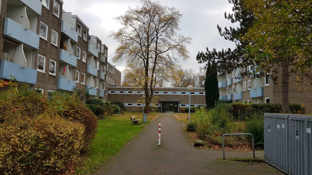 Wohnanlage der SAGA in Meiendorf