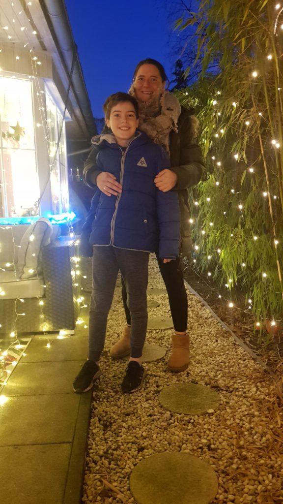 Sabine und Liam Alexander