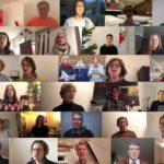 Die Walddörfer Kantorei singt als Projektchor von zu Hause