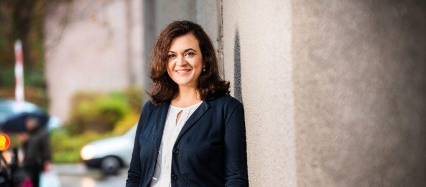 Franziska Hoppermann von der CDU in Wandsbek