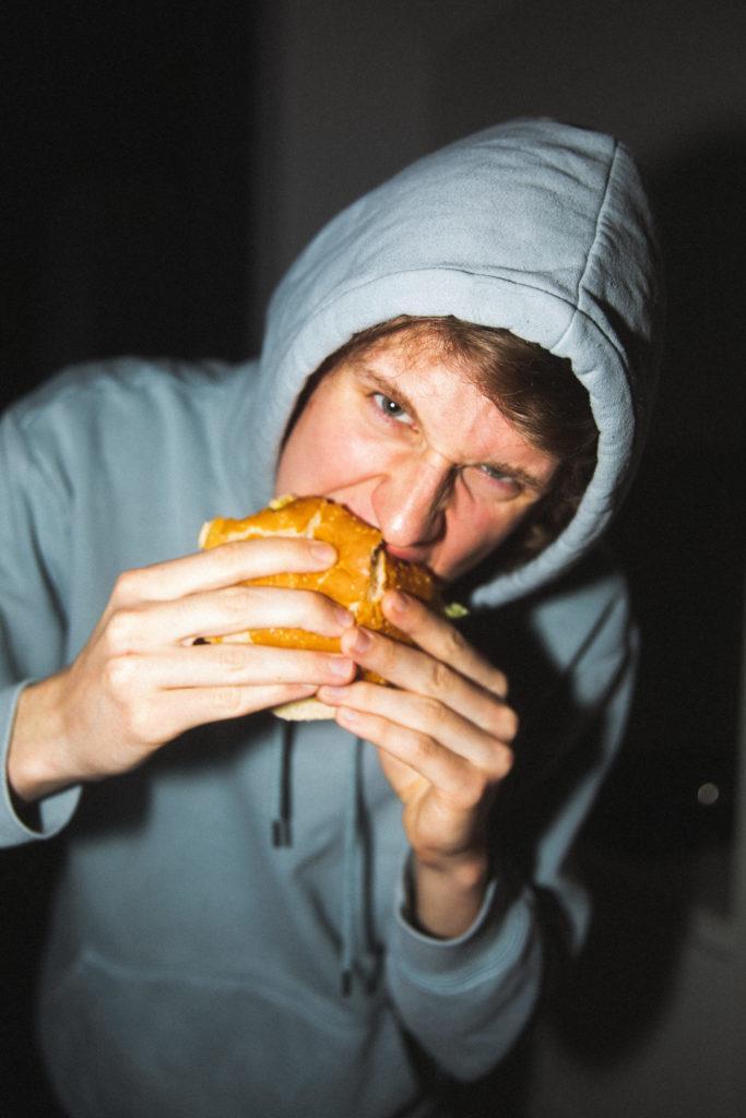 Jannes testet den vegetarischen Burger