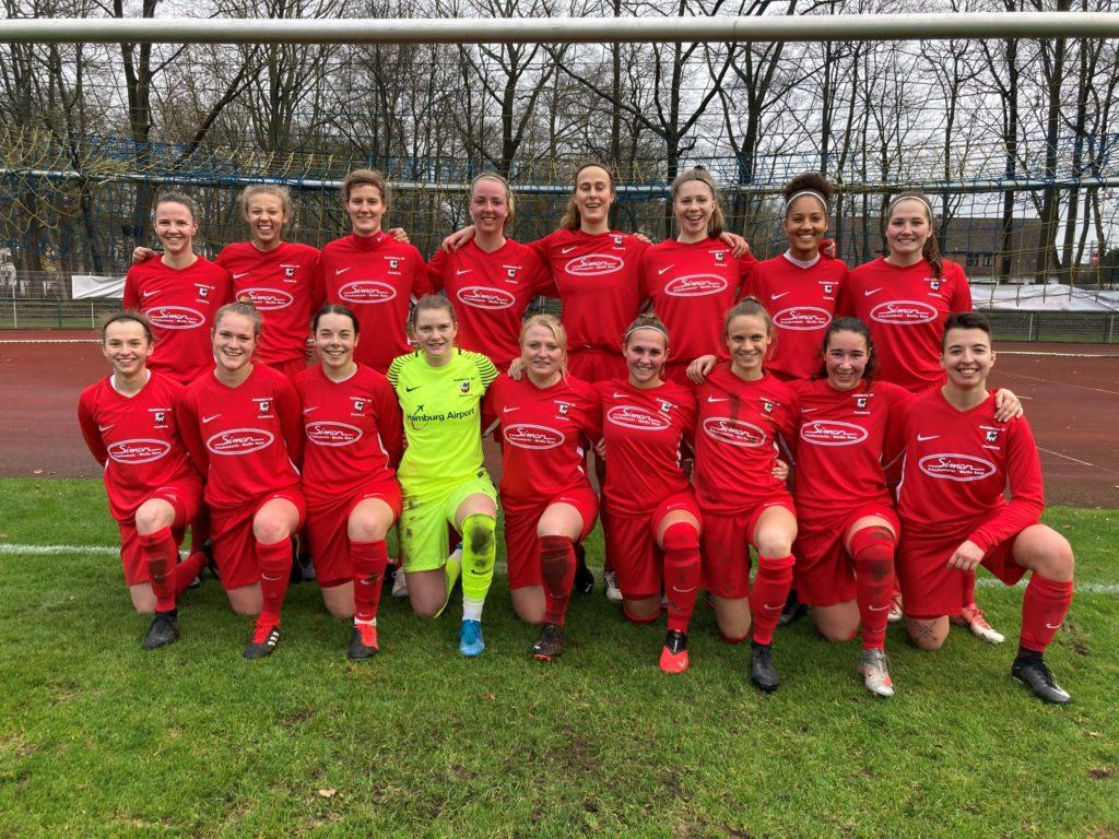 Die Fußball Damen des Walddörfer SV