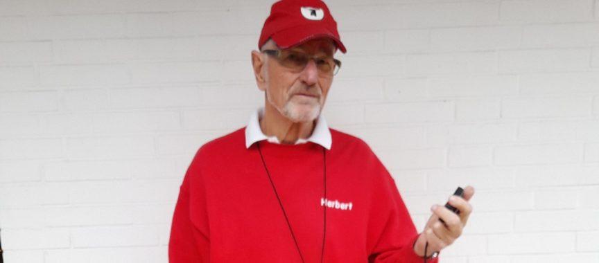 Herbert Schacht in Prüfungsmontur