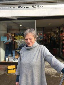 Giesela Jantzen von J + K in Volksdorf