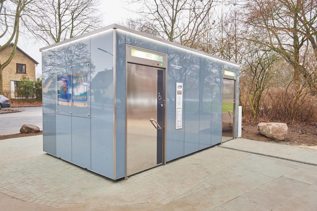 So oder ähnlich wird die Toilette aussehen. Fotos: Marius Leweke/Stadtreinigung Hamburg