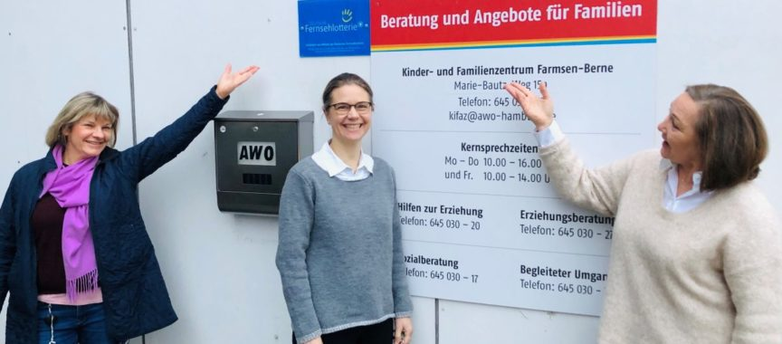 Das KiFaZ-Team der Awo in Farmsen-Berne
