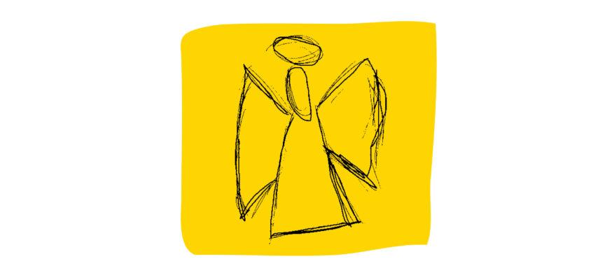 Der Hamburger Engel der Marthastiftung Erlenbusch
