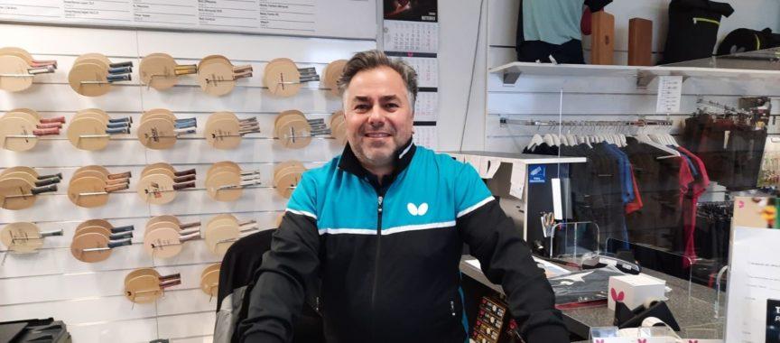 Tischtennis-Ass Mathias Grundei vom SC Poppenbüttel
