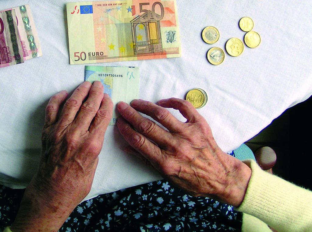 Senioren und Geld