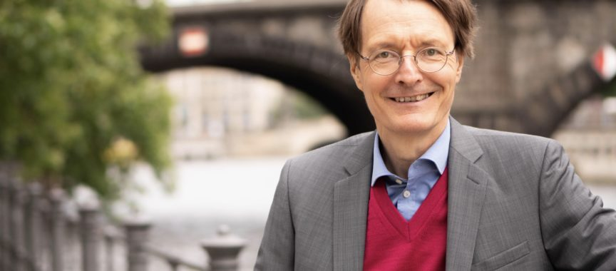 Dr. Karl Lauterbach im Interview mit dem Heimat-Echo
