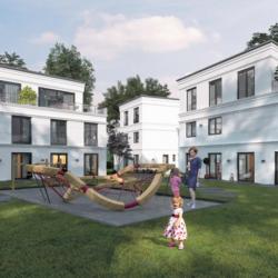 Bauvorhaben Maetzelweg 7: 12 Wohneinheiten auf 2.300 Quadratmetern.