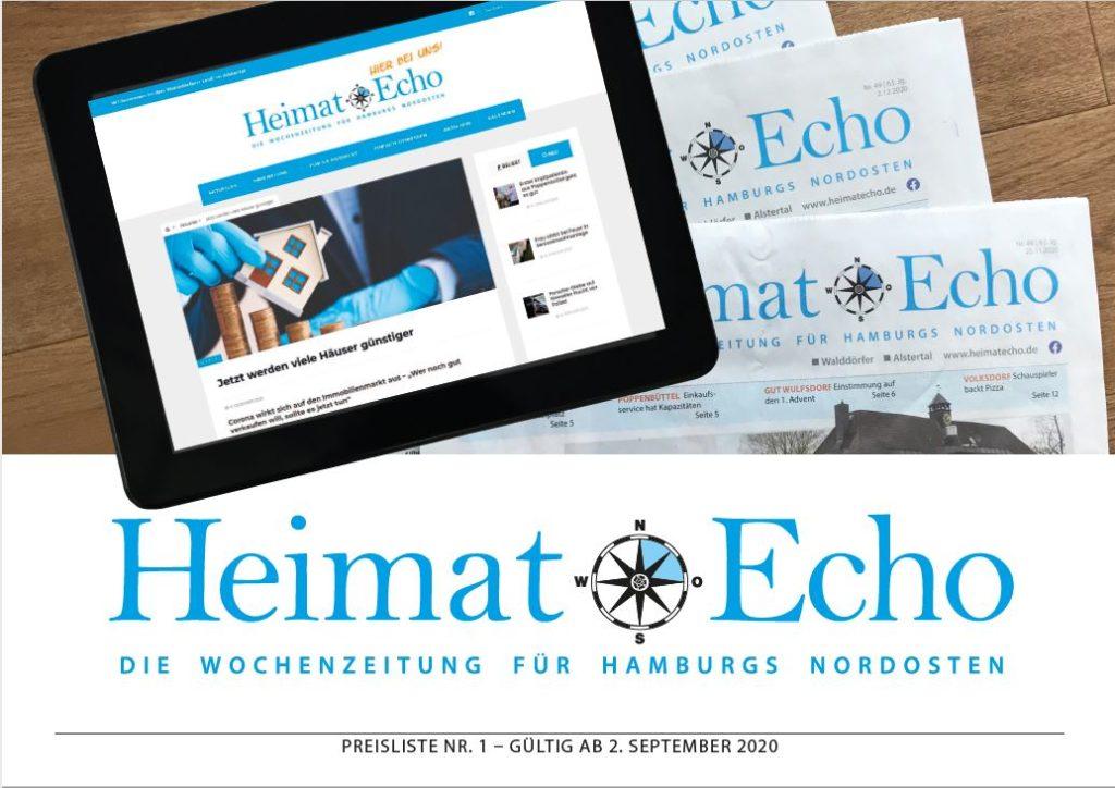 Mediadaten des Heimat-Echo