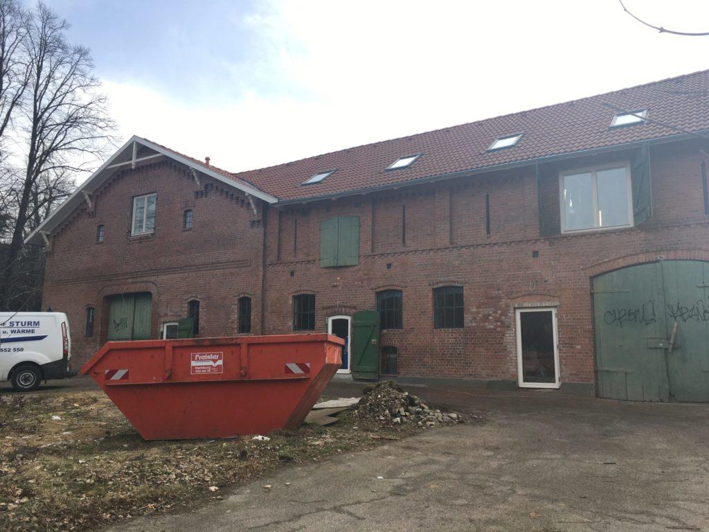 Umbau des denkmal geschützten Hauses in Bergstedt