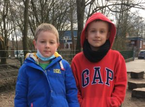 Mattis und Philipp