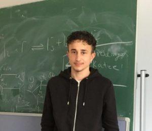 Miguel Weiß, Zwölftklässler der Stadtteilschule Meiendorf
