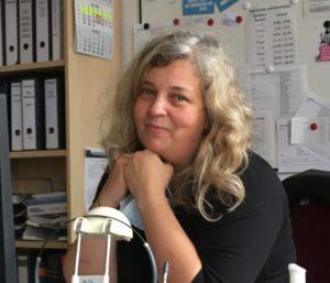 Gabriela Weik ist Schulsekretärin der Stadtteilschule Meiendorf