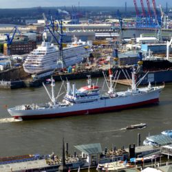 Der Hamburger Hafen