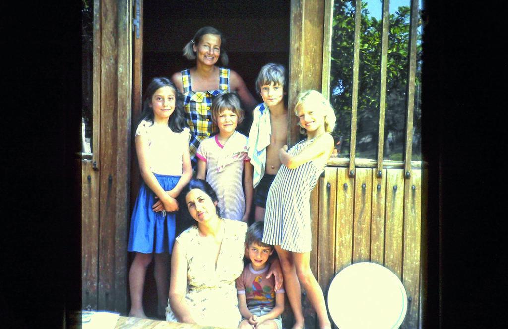 Familie in Griechenland