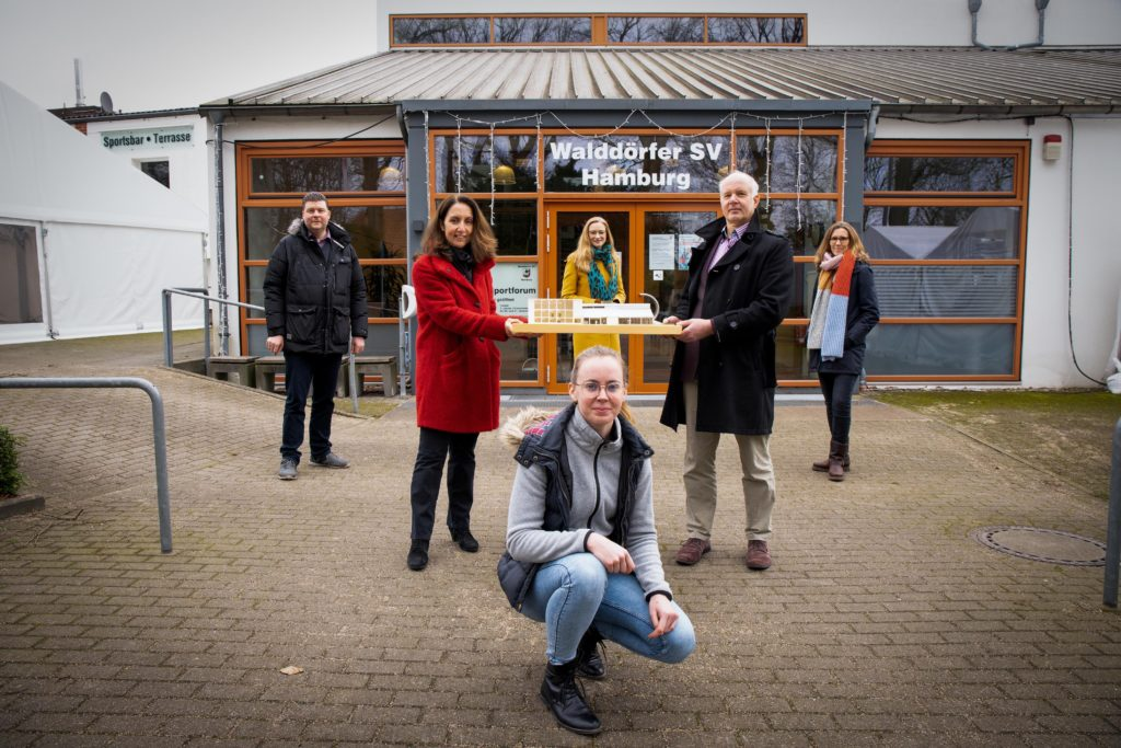 Walddörfer SV plant einen Neubau