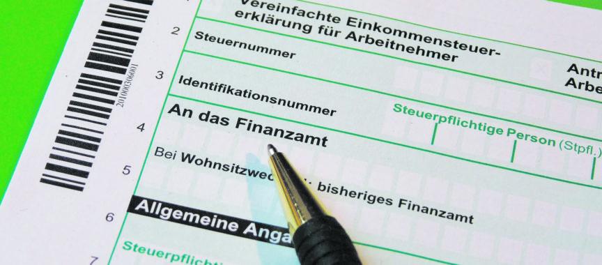 Steuererklräung