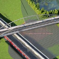 Der geplante Brückenbau im Tunneltal