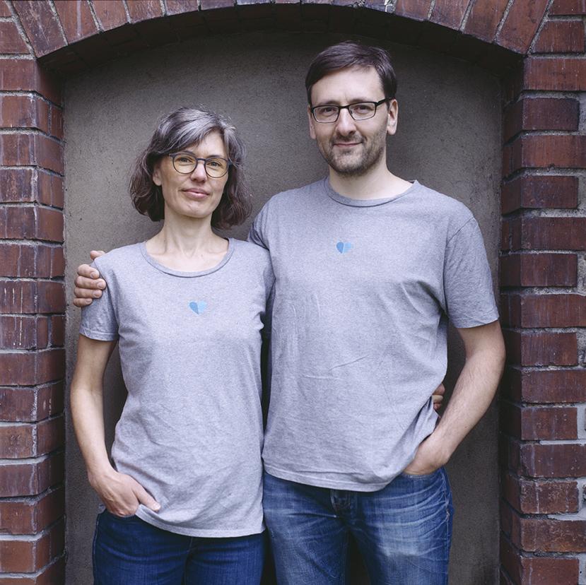 Lutz Geißler und seine Lebensgefährtin Christina Weiß