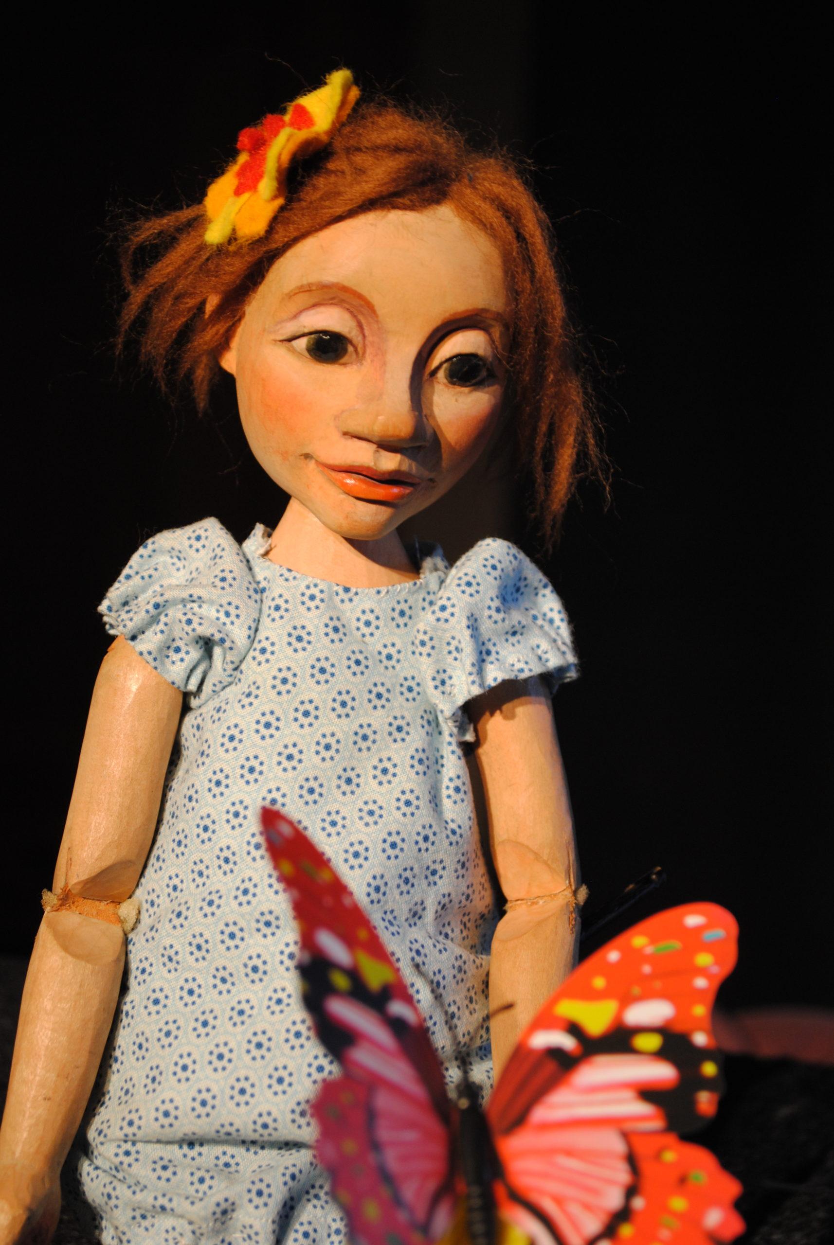 """Online Puppentheater """"Maja - zusammen sind wir stark"""