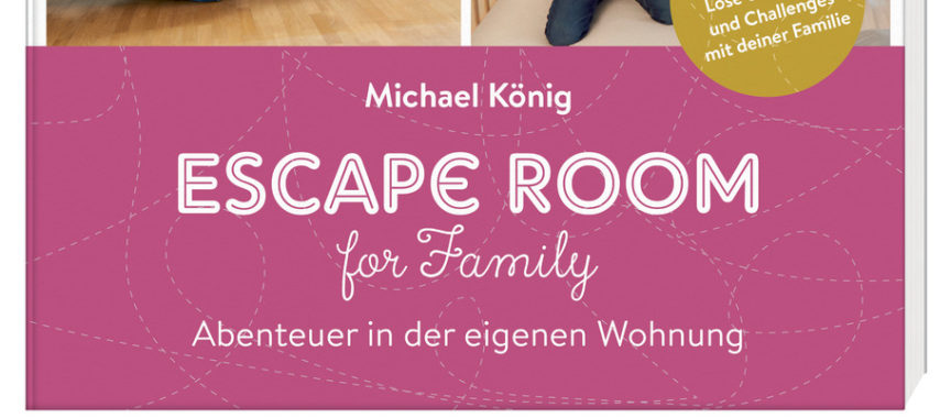 Buch Escape Room for family von Michael König