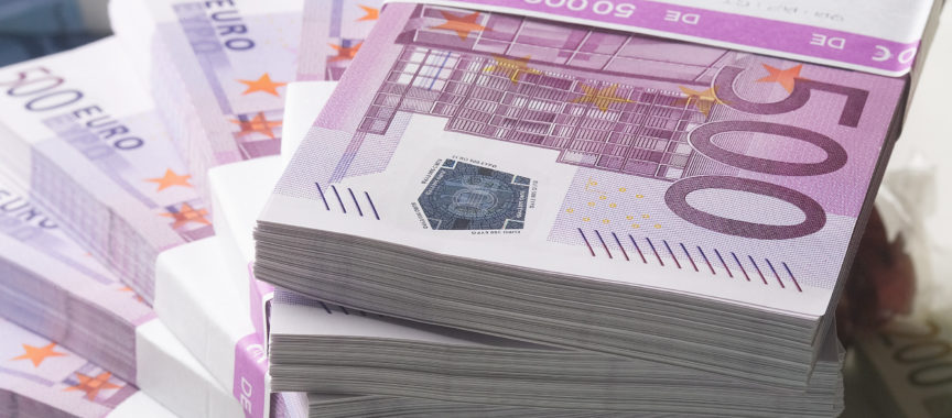 Geld, 500-Euro-Scheine