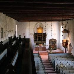 Die Bergstedter Kirche ist eine der ältesten Kirchen der Region.