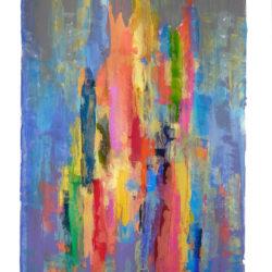 "Kunstausstellung ""Farbiger Stillstand"""